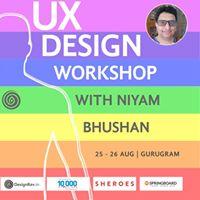 Design Workshop with Niyam Bhushan