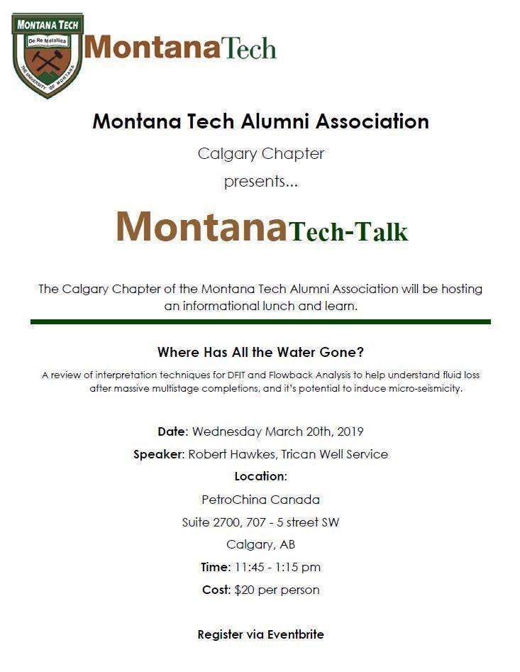 Montana Tech-Talk - Spring 2019