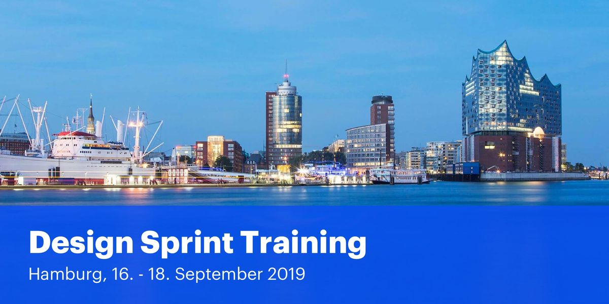 Certified Design Sprint Training Hamburg (2 Tage)  Prototyping Workshop