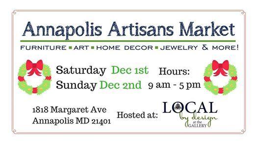 Holiday Shopping at the Annapolis Artisans Market
