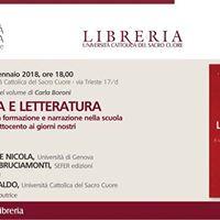 Carla Boroni presenta Scuola e letteratura SEFER Edizioni