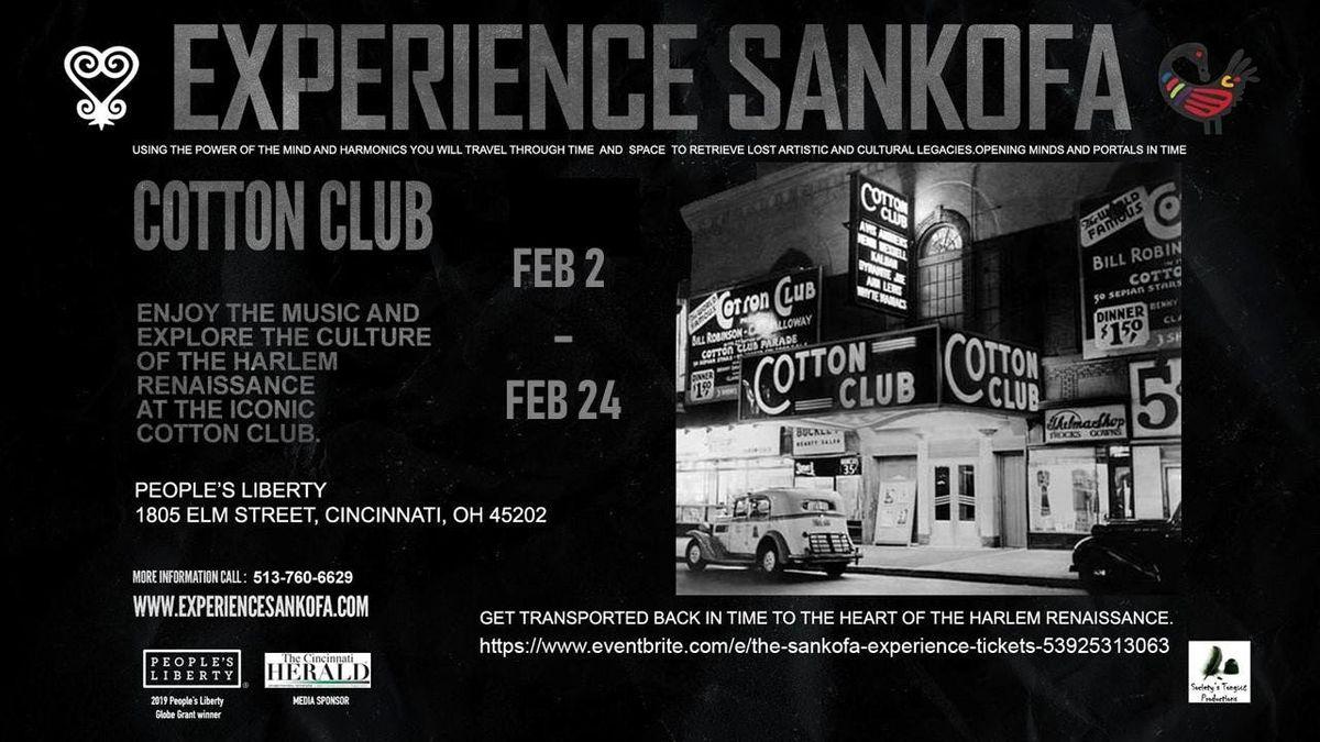 Feb 15th  Sankofa Time Travel Voyage to Harlem