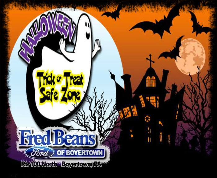 Trick Or Treat Safe Zone At Fred Beans Ford Of Boyertown Bechtelsville
