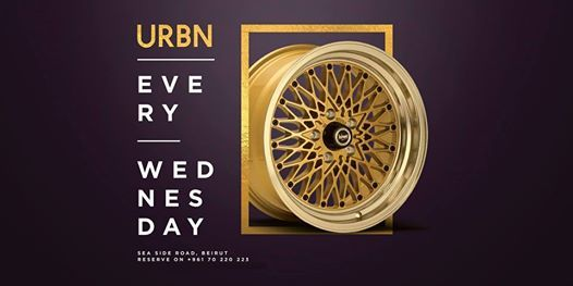 URBN  Every Wednesday at Caprice L.T.D