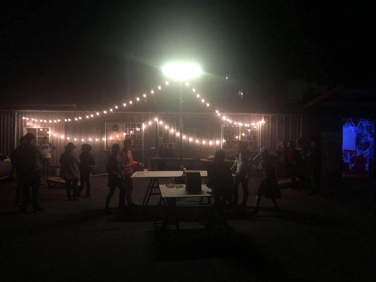 Game Night at Bolt Lighting Rental