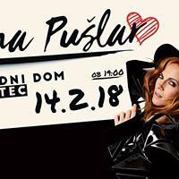 Valentinov koncert  Nina Pular Logatec