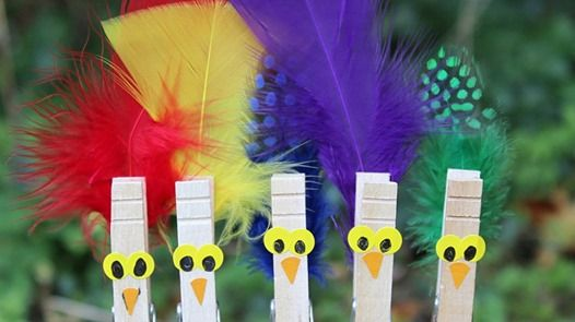 Celebration of Birds - Kids Outdoor Crafts