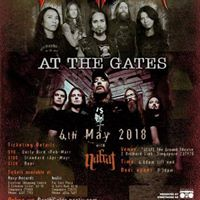 At the Gates Live in Singapore May 2018