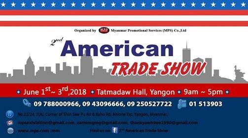 2nd American Trade Show 2018 Yangon
