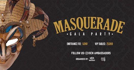 UCN Gala party - Masquerade