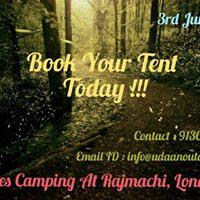 FireFlies Camping at Rajmachi Lonavala