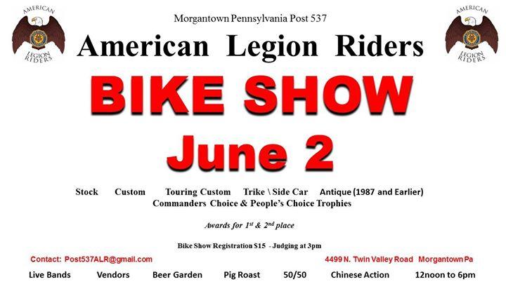 Post 537 - American Legion Riders - Bike Show