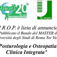 Master di Posturologia e Osteopatia Clinica Integrata
