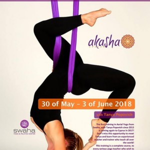 Aerial Yoga Teacher Training course 2018 with Tanya Popovich