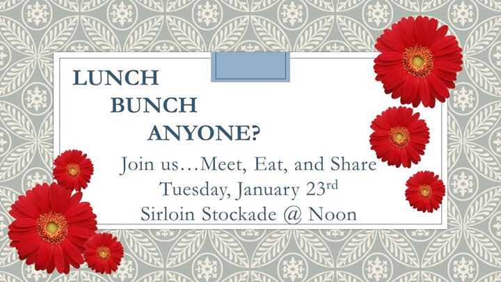 January Lunch Bunch at Sirloin Stockade - Ardmore, Ardmore