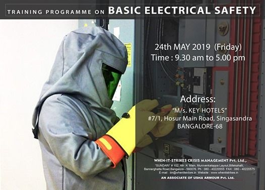Centralized Training Program on Basic Electrical Safety