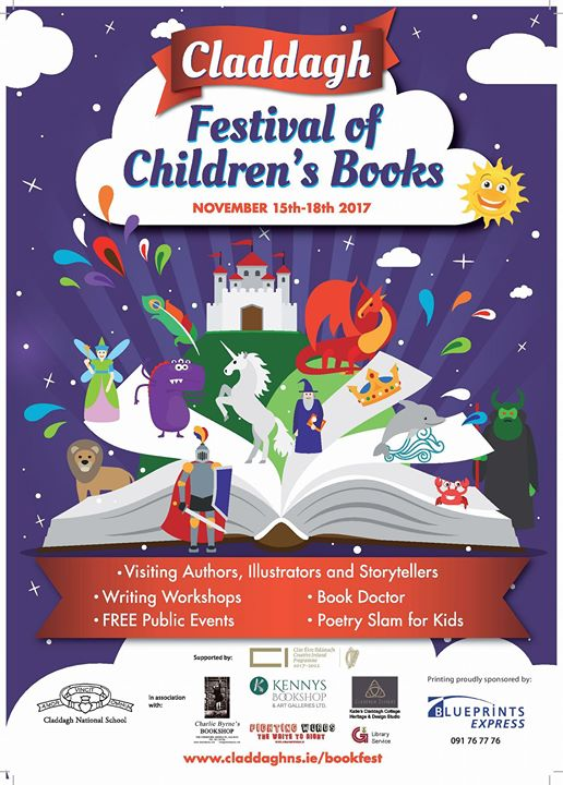 Launch claddagh festival of childrens books at claddagh national launch claddagh festival of childrens books malvernweather Choice Image