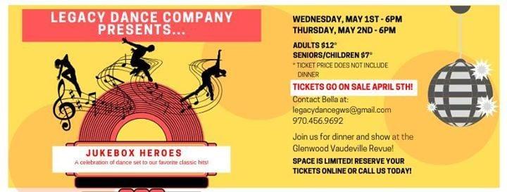 2nd Annual Spring Showcase! At Glenwood Vaudeville Revue