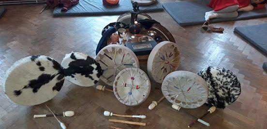 Cesta bubnu - vroba amanskho bubnu