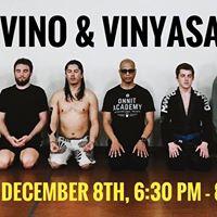 Vino &amp Vinyasa Yoga Wine Live Music