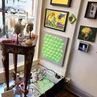 Holiday Art Market -still on at 107 Bowers Gallery &amp ArtSpace