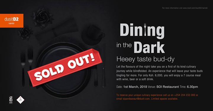 Dining in the Dark