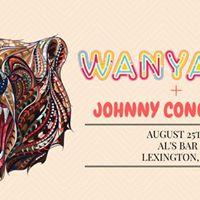 Wanyama  Johnny Conqueroo  Coleslaw  Als Bar  Aug 25th