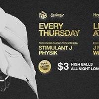 LE Thurs Feat 3 Hi-Balls at Republic Jan 12th
