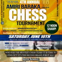 Fourth Annual Amiri Baraka Memorial Chess Tournament
