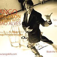 Workshop the Energies of Tango with Joo Alves in BrightonHove