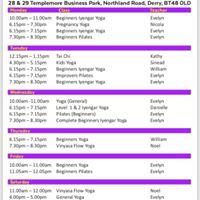 Yoga and Pilates centre