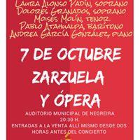 Gala de Zarzuela y pera