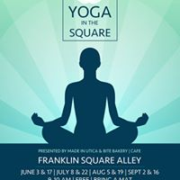 Yoga in the Square August 5