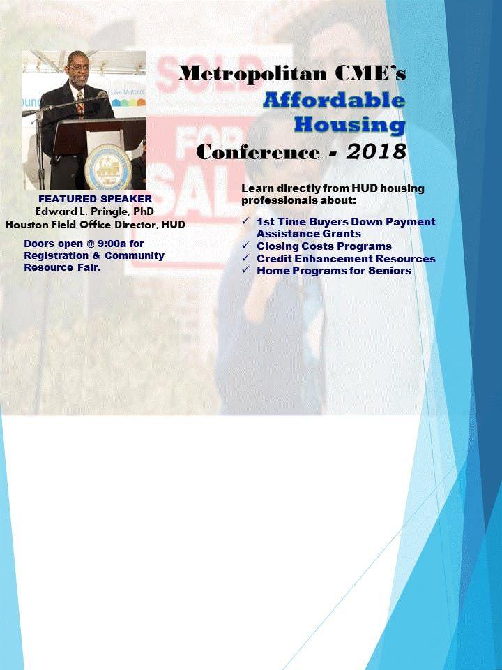 Metropolitan Affordable Housing Summit