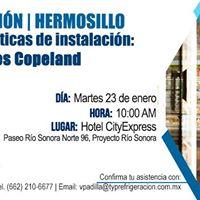 Tour de Capacitacin Tcnica CopelandEmerson  TYP Hermosillo