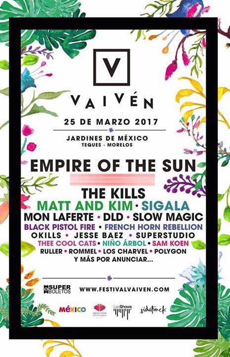 Mon Laferte En Festival Vaiven At Jardines De Mexico Tequesquitengo