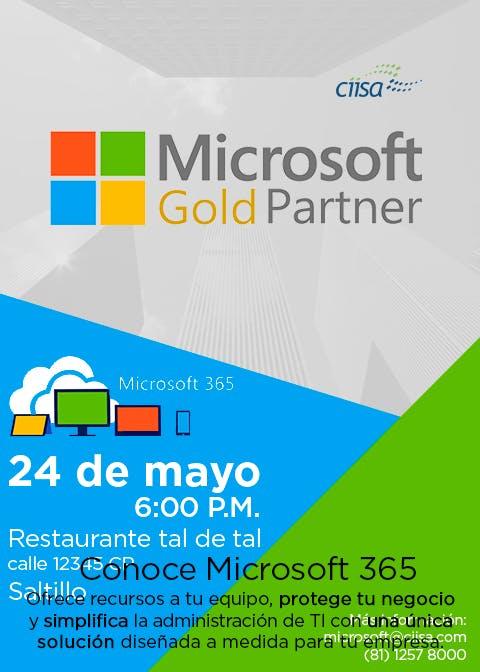 Conoce Microsoft 365