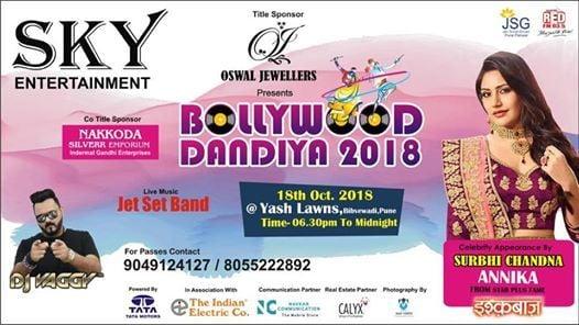 BollYwood Dandiya 2018 SkY Entertainment