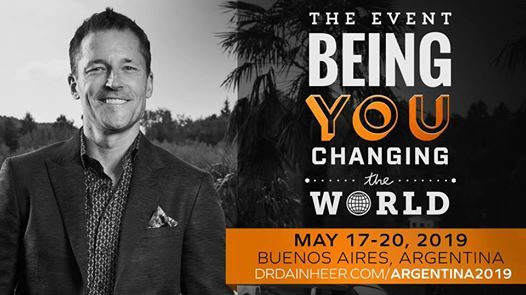 Being You Changing The World Buenos Aires with Dain Heer