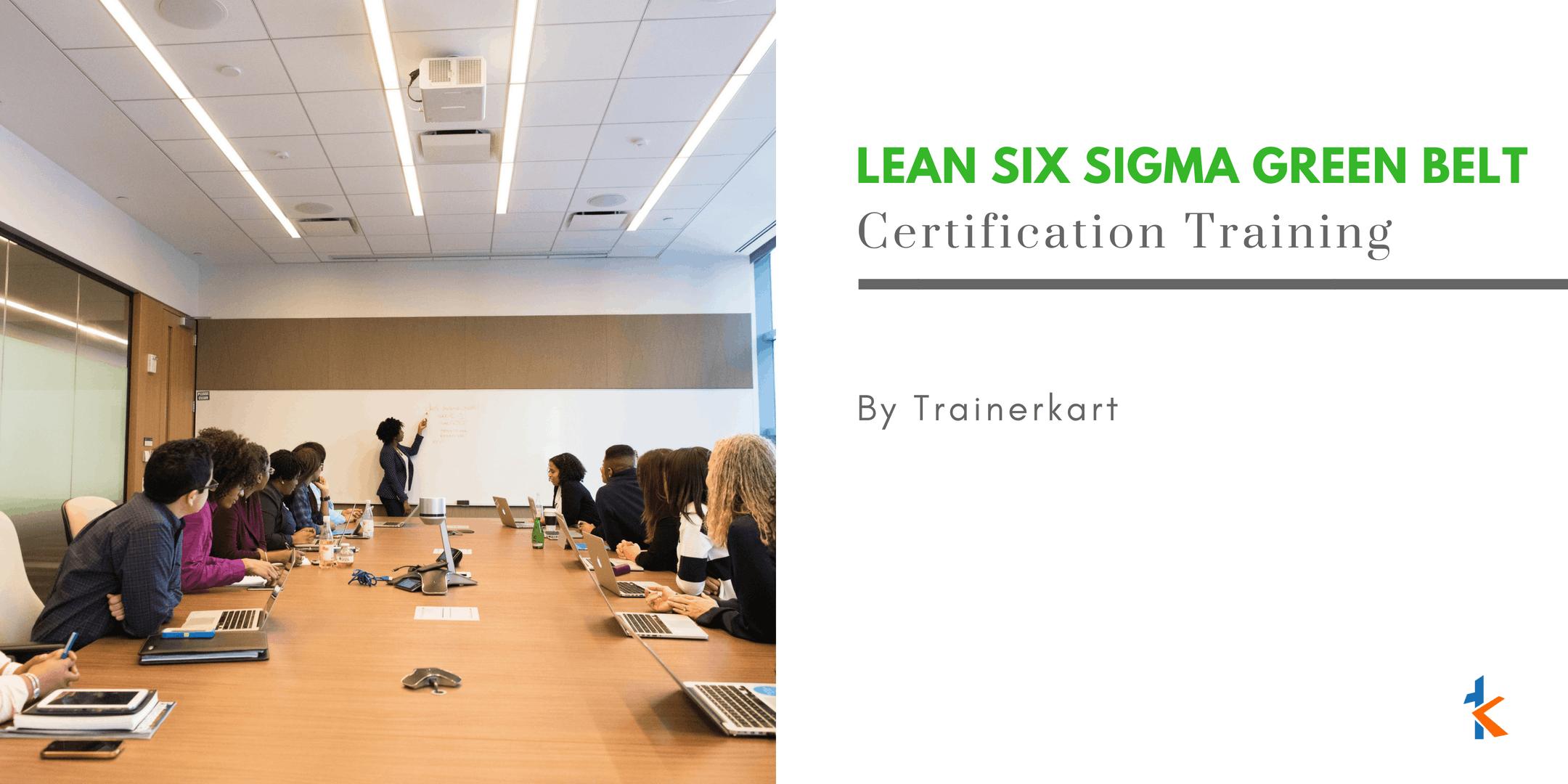 Lean Six Sigma Green Belt Training In Roanoke Va At Business Hotel