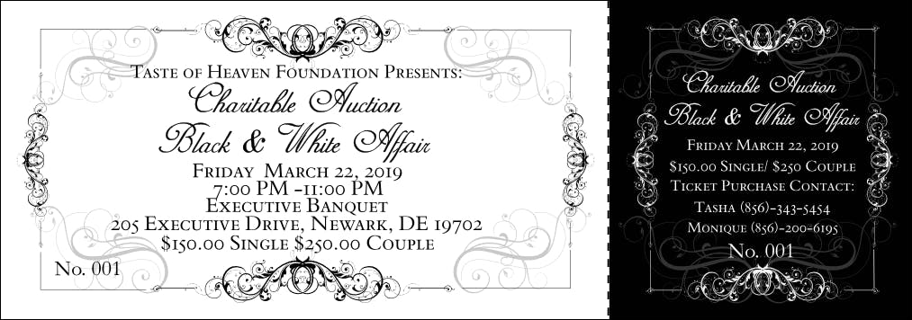 Black & White Charity Affair