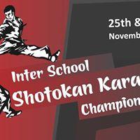 Inter School Shotokan Karate Championship 2017