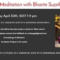 Meditation with Bhante Sujatha