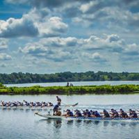 Cornwall Waterfest Dragon Boat Races