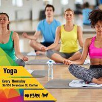 YOGA Class - Every Tuesday