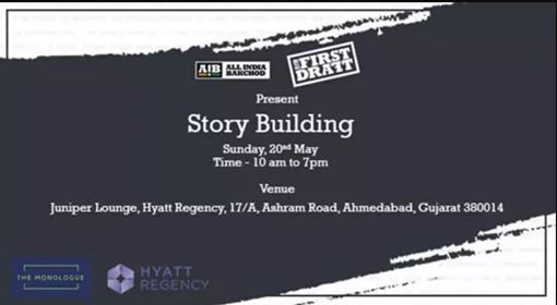 AIB First Draft Story Building Workshop