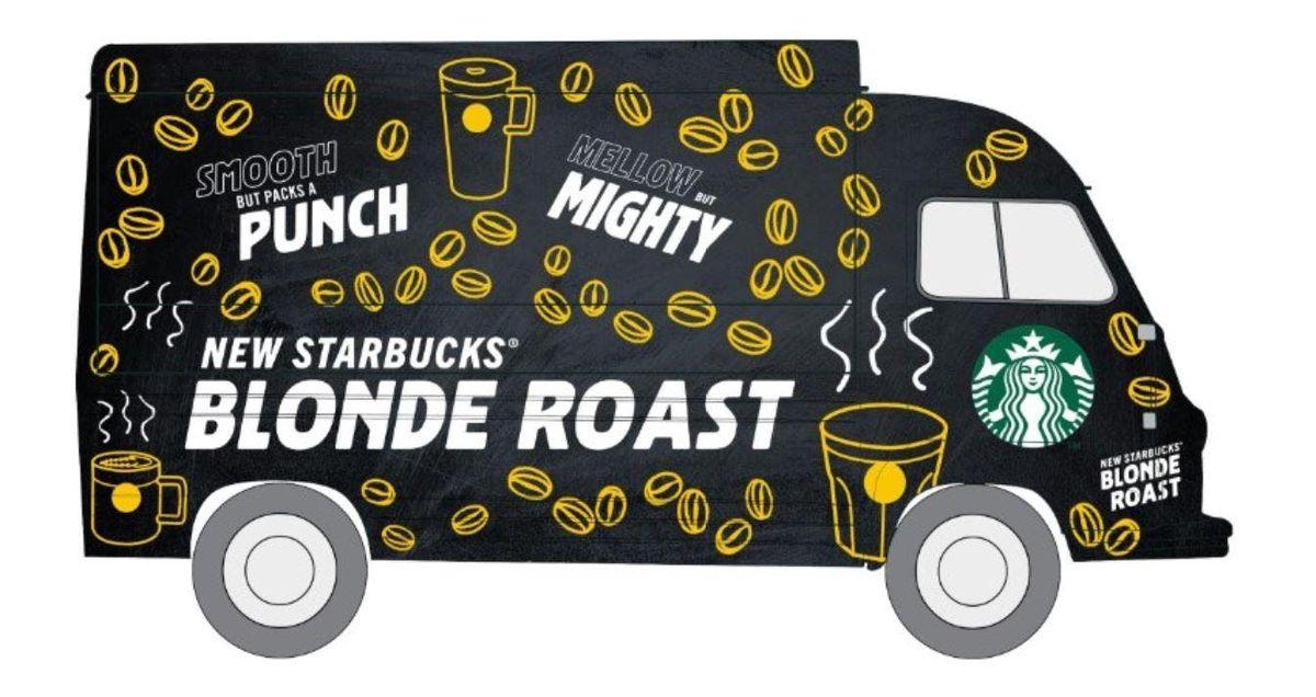 Try Starbucks new Blonde Roast Espresso for free