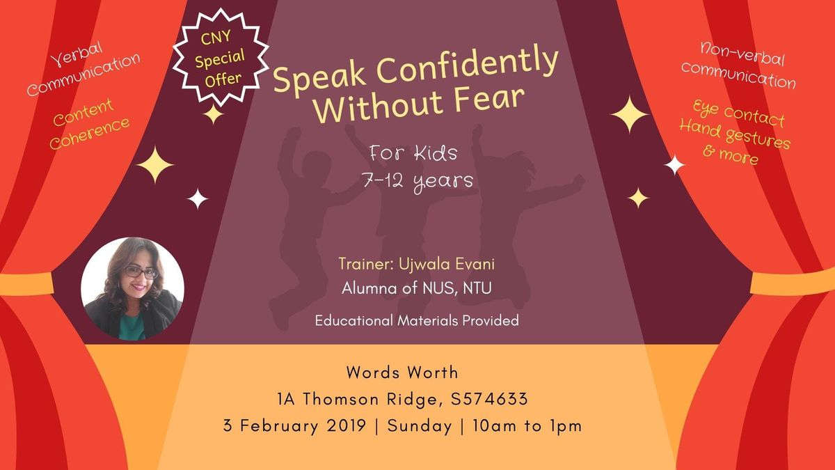 Speak Confidently Without Fear