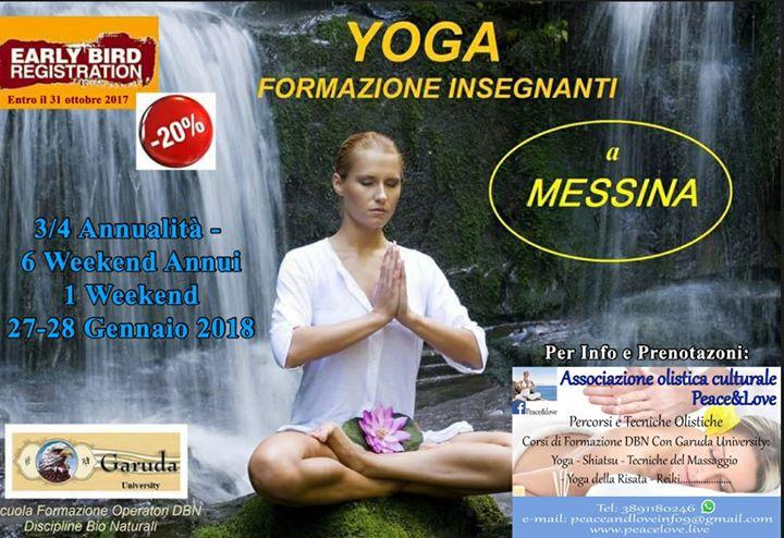 Yoga-Formazione Insegnanti a Messina