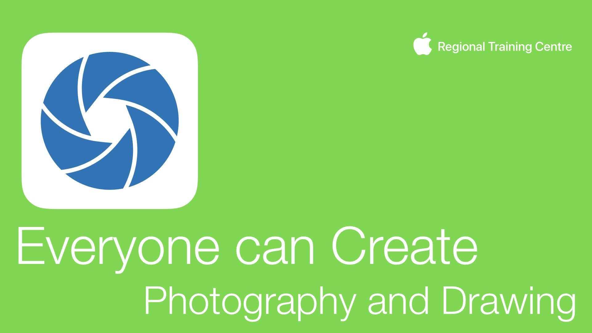 Everyone can create - Photography and Drawing
